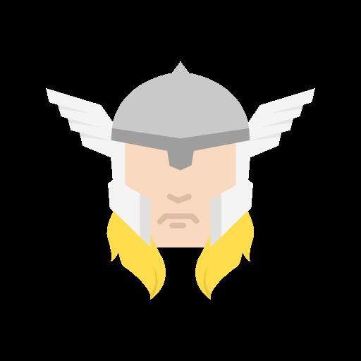 hero, suer hero, thor, wings icon