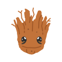 fighting tree, groot, super hero, tree icon