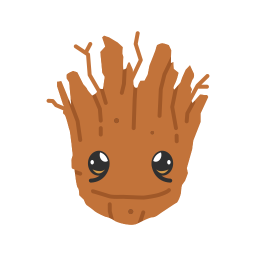 fighting tree, groot, super hero, tree icon