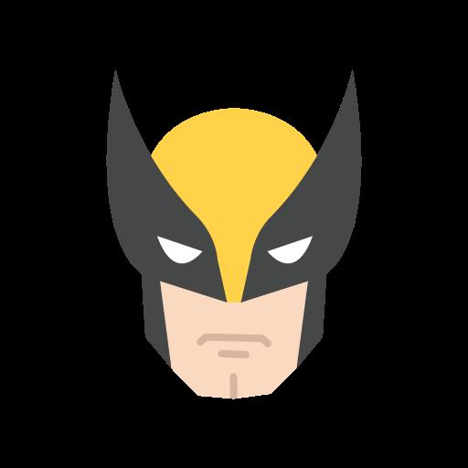 halloween, marvel, super hero, wolverine icon