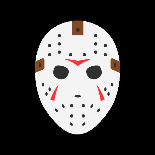 freddy, friday the 13th, jason mask, krueger icon