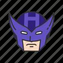 hawkeye, hero, marvel, super hero icon