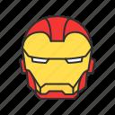 iro, ironman, marvel, super hero icon