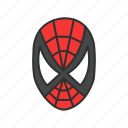 marvel, spider, spiderman, super hero icon