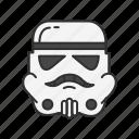 george lucas, soldier, star wars, storm trooper icon