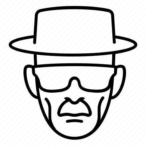 actor, breaking bad, character, glasses, heisenberg, walter white icon