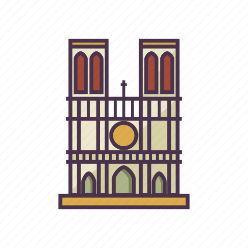 architecture, catholic, landmark, notre dame cathedral, religion icon