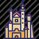bavaria, castle, germany, neuschwanstein