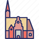 christ church, church, namibia, windhoek icon