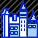 azerbaijan, bran castle, romania, transylvania icon