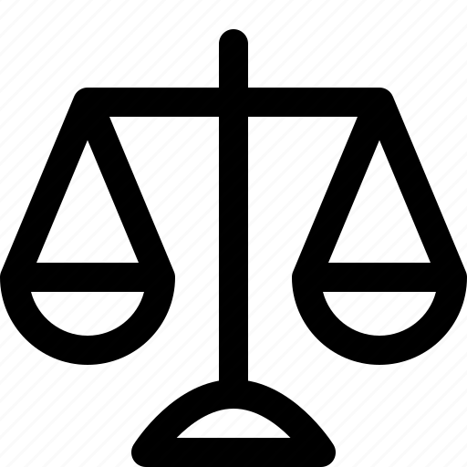 jurisdiction, jurisprudence, justice, legal, scales, scales of justice, weigh the difference icon