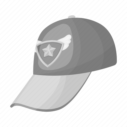 attribute, cap, clothing, emblem, fan, team icon