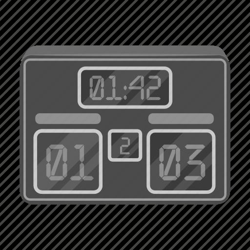 attribute, fan, game, scoreboard, sport, stadium, total icon