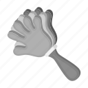attribute, fan, finger, gesture, hand, instrument, palm icon