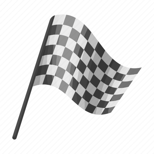 attribute, cage, fan, flag, sport icon