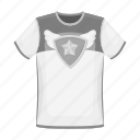 attribute, clothing, emblem, fan, fashion, t-shirt, team icon