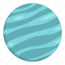 big planet, global, orbit, planet, round, sphere, world icon