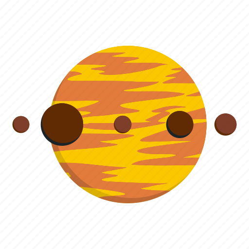 global, orbit, planet, planet and moons, science, sphere, world icon