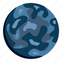 global, orbit, planet, science, small planet, sphere, world icon
