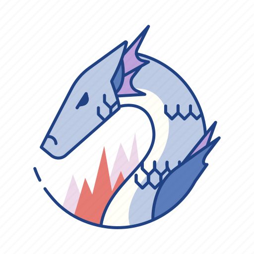 beast, creature, dragon, fantasy, monster, mythical, reptile icon