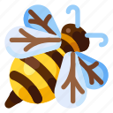 animal, bee, farm, food, health, nature, plant icon