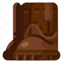 boot, equipment, farm, nature, plant, safety icon