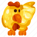 animal, chicken, farm, food, nature, plant icon
