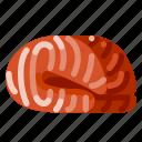 animal, farm, fish, food, meat, nature, organic icon