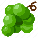 farm, food, fruit, grape, nature, plant icon