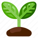 farm, food, growing, health, nature, organic, plant icon