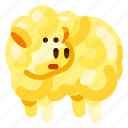 animal, farm, food, lamb, nature, plant icon