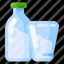 animal, drink, farm, health, milk, nature, organic icon