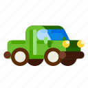 farm, nature, pickup, plant, transportation, truck, vehicle