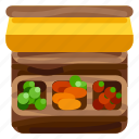 commercial, farm, food, market, nature, plant, stall icon