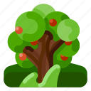 farm, food, fruit, nature, plant, tree icon