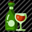 drink, farm, health, nature, organic, plant, wine icon