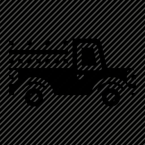 pickup, transport, transportation, truck, vehicle icon