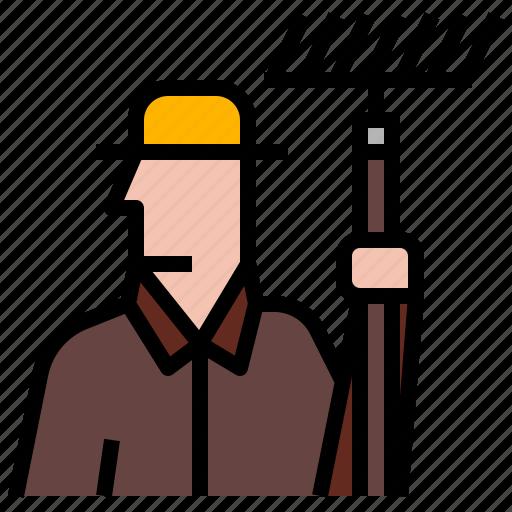 Agriculture, farm, farmer, farming, man icon - Download on Iconfinder