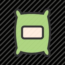 bag, barley, corn, grain, sack, seeds, wheat icon