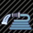 hose, pipe, spray, tool, water