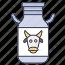 cow, dairy, drink, farm, milk