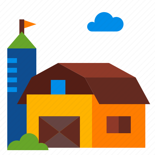 Agriculture, barn, farm, house icon - Download on Iconfinder