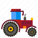 agriculture, farm, machinery, tractor icon