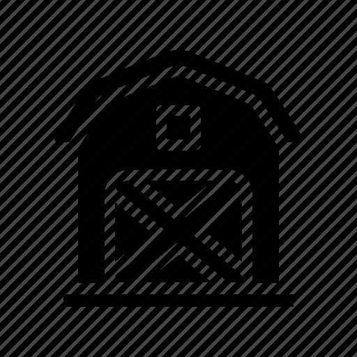 farm, farmhouse icon