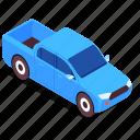 pickup, vehicle, transport, car
