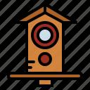 bird, house, pet, shelter, wildlife icon