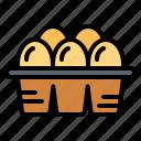 egg, food, organic, protein icon