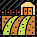 farm, farming, gardening, tree icon