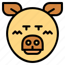 animal, farm, pig, wildlife icon