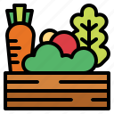 food, healthy, salad, vegetables icon